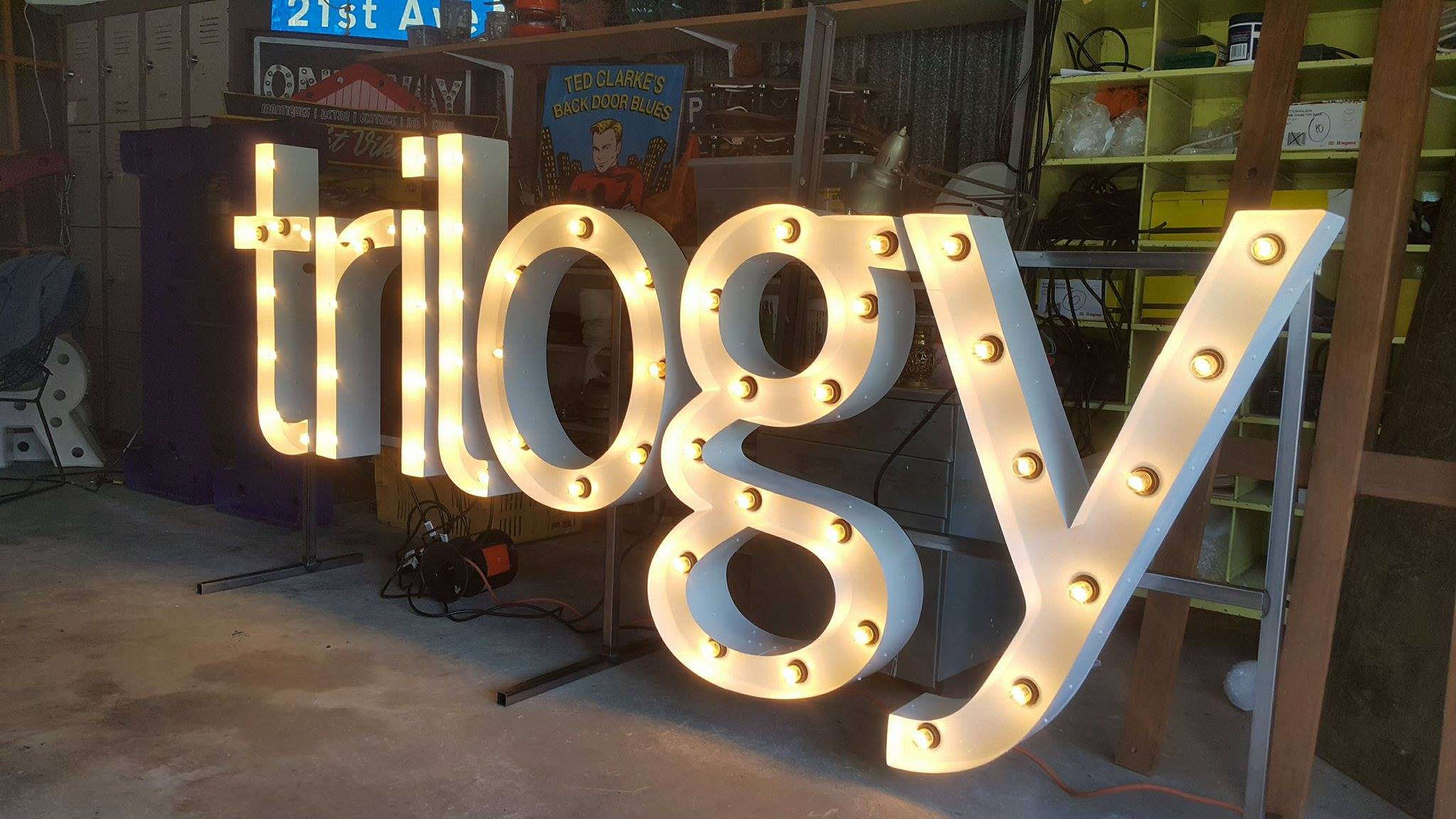 trilogy marquee lights